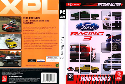 Jogo Ford Racing 3 Reloaded PC DVD Capa