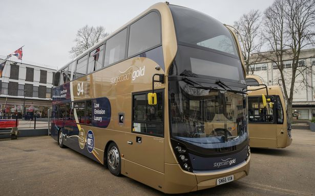 focus transport stagecoach takes over cheltenham park ride. Black Bedroom Furniture Sets. Home Design Ideas