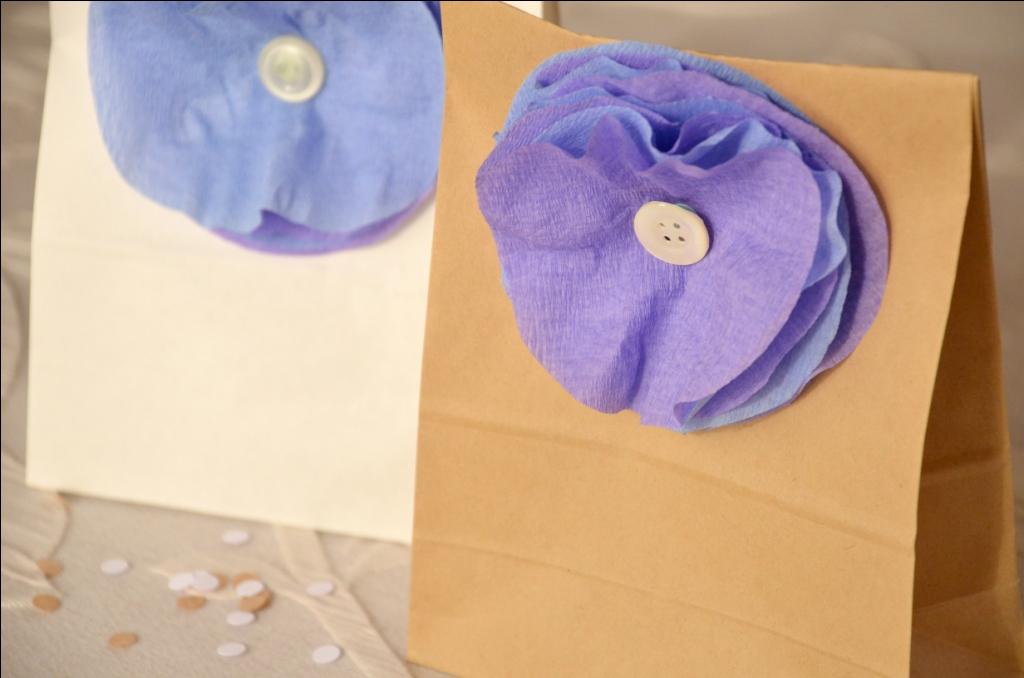 Amato Appunti di una damigella creativa: DIY: Bomboniere con fiori di carta ZJ15