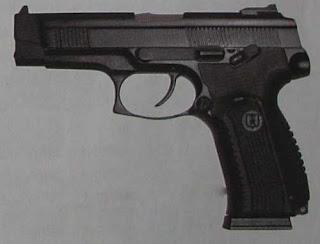 Штатный пистолет Российских вооруженных сил - 9-мм пистолет Ярыгина ПЯ (МР-443) выпуска 2006 года
