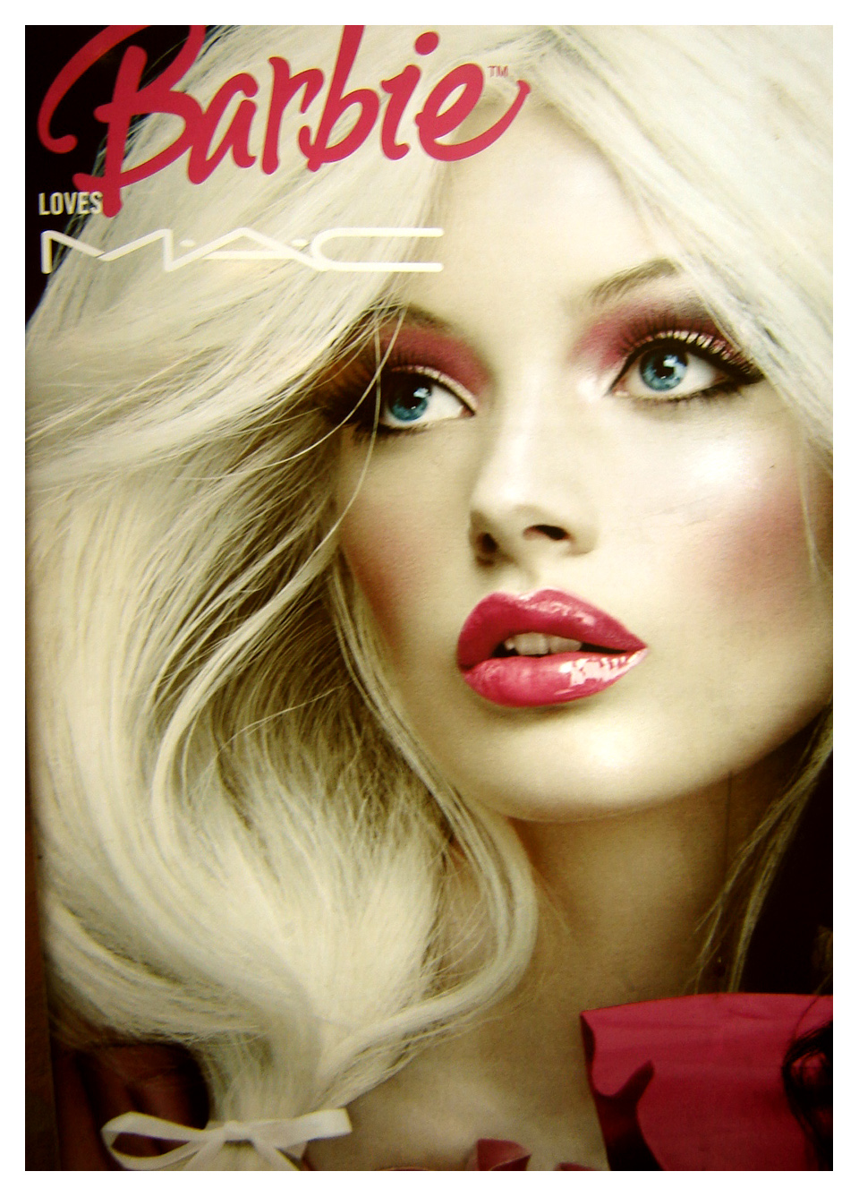 Barbie Makeup: A Little Something About Nia: M.A.C. And Barbie Advertisement