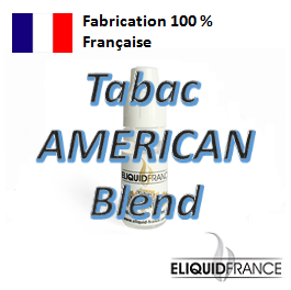 E-Liquide Tabac AMERICAN Blend ELIQUID FRANCE 100 % Français sur Top Cigarette Electronique