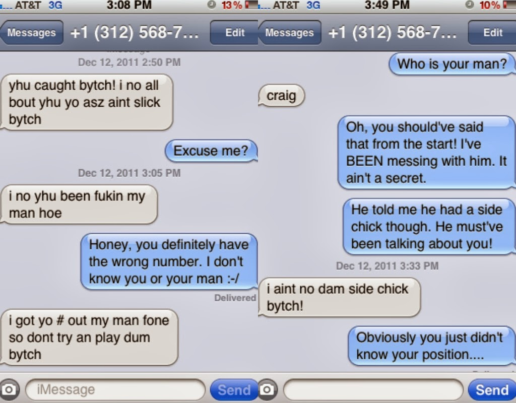 Ghetto Genius: Cheaters, Stalkers, Wrong Numbers   Oh My!!!