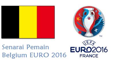skuad Belgium EURO 2016