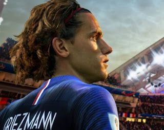 See how Griezmann looks in world cup 2018 Game