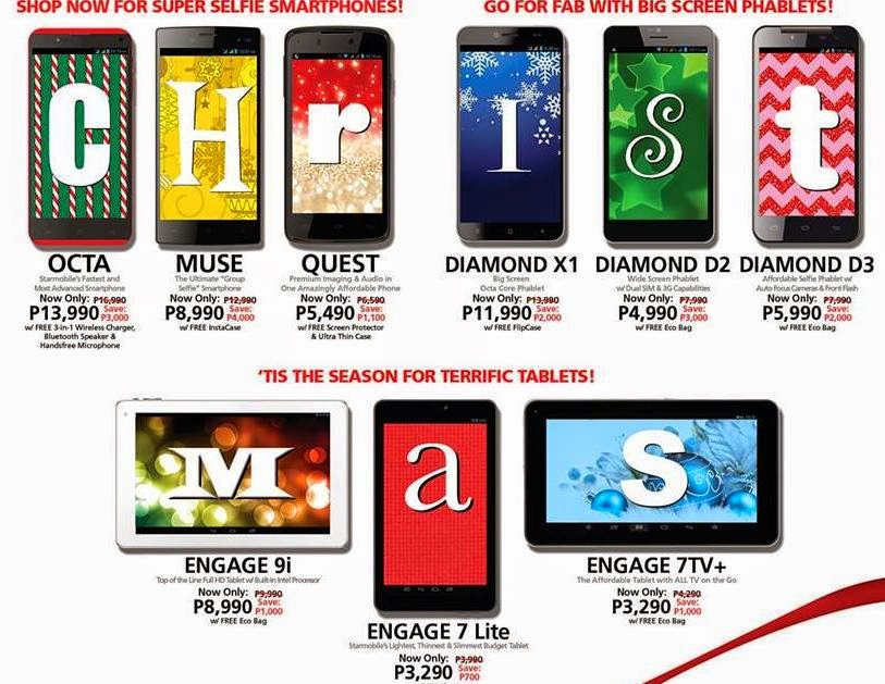 Starmobile Early Christmas Sale Extended Until October 31