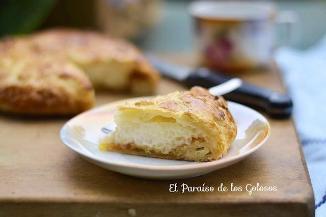 Empanada De Arroz Con Leche Y Manzana A La Sidra