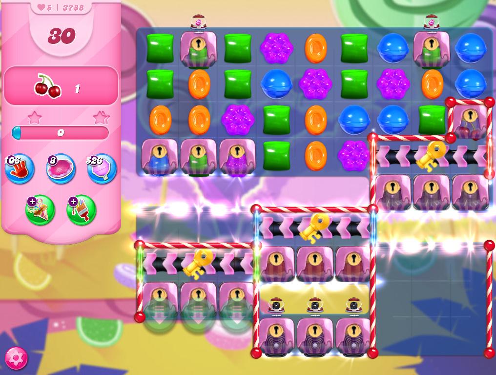 Candy Crush Saga level 3788