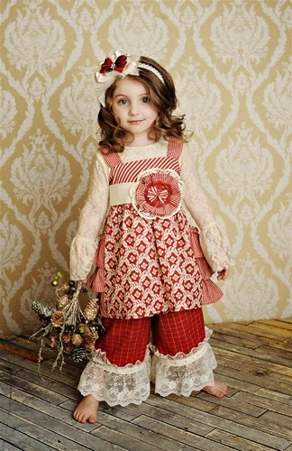 e7fb2982c91d Persnickety Clothing Olivia Jumper in Red Holiday, holiday 2011