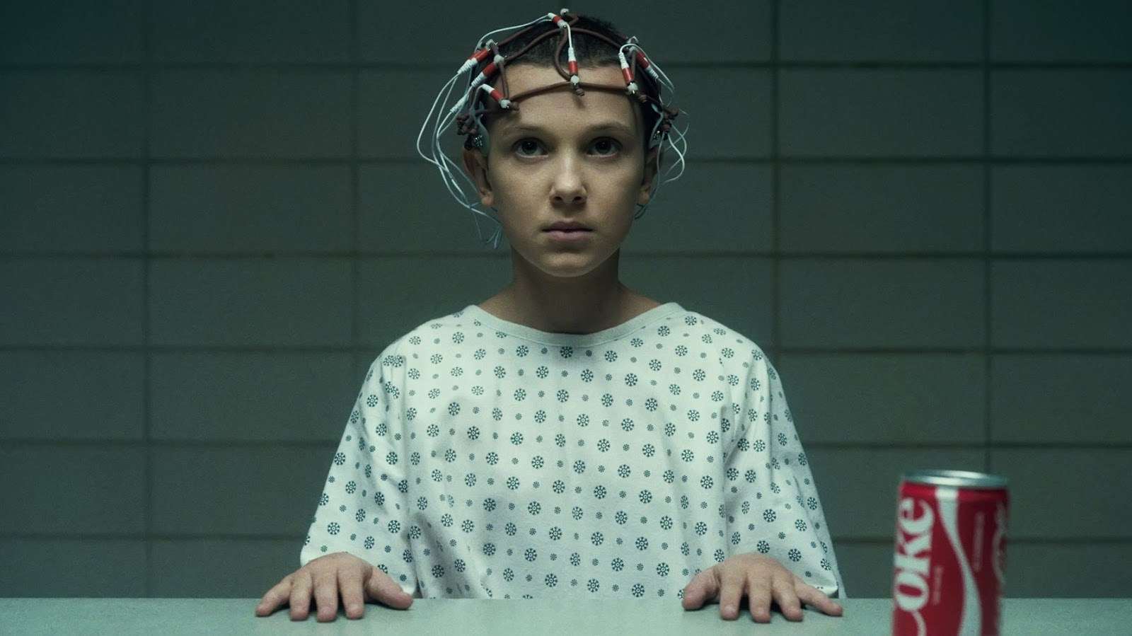 Eleven, interpretada por Millie Bobby Brown en 'Stranger Things'