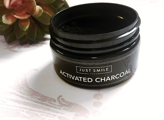 Just Smile Activated Charcoal Teeth Whitening Powder