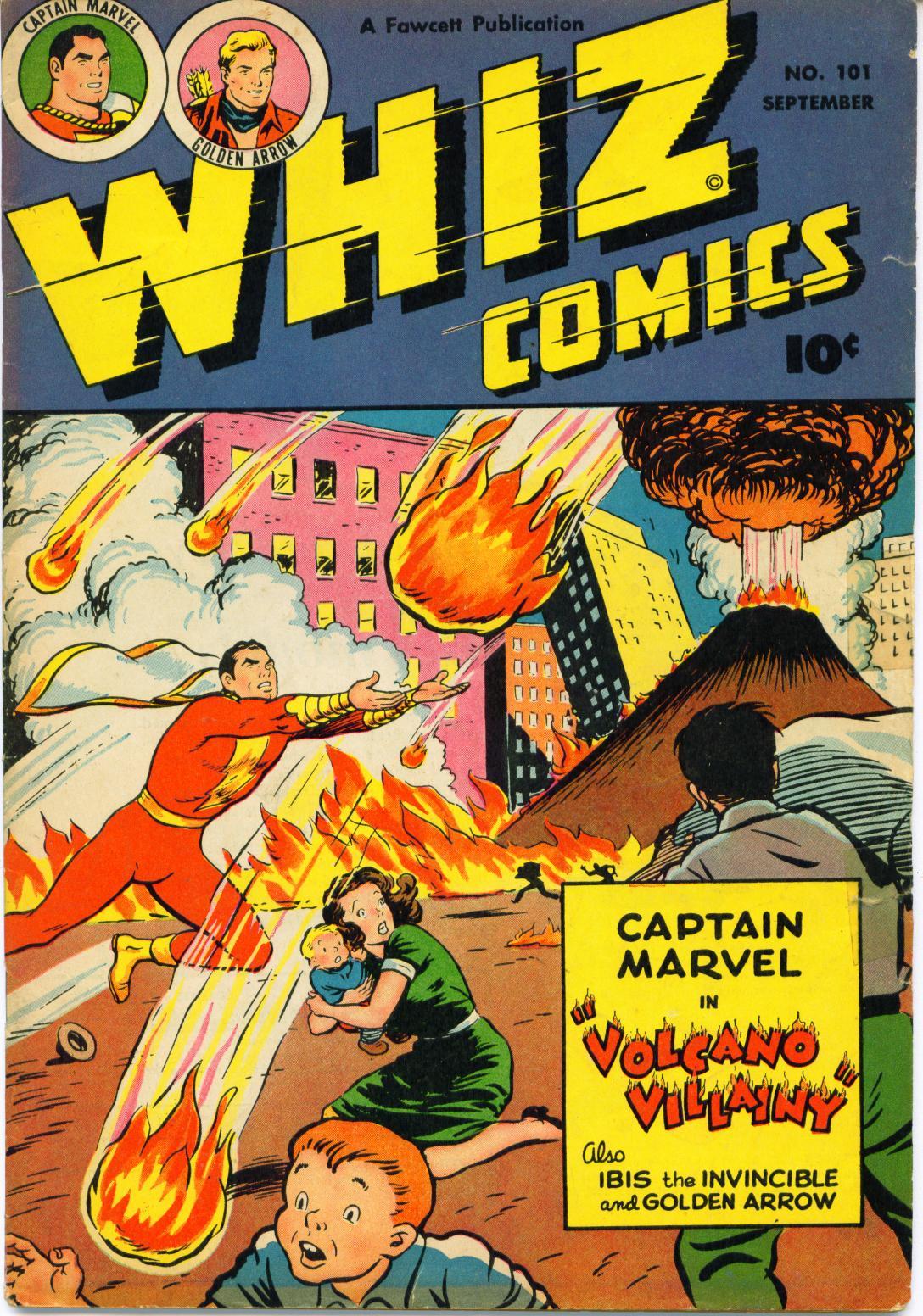 WHIZ Comics 101 Page 1