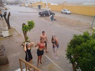 Chove em várias cidades das regiões do Seridó e Curimataú