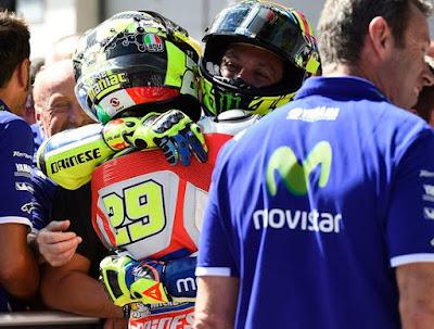 Rossi Akui Ditipu Oleh Iannone