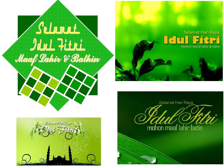 Ucapan Maaf Lahir Batin Dan Selamat Lebaran Hari Raya Idul Fitri