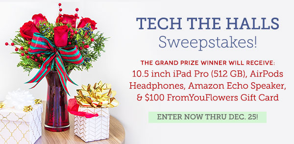 Tech The Halls Sweepstakes
