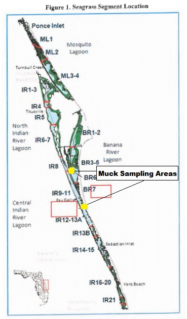 Brevard County Receives K For Indian River Lagoon Research And - Indian river lagoon map