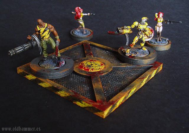 Euphoria Miniatures, Nikolai, Sooyoung, Centinel V12, Madeleine, Plataforma de Salida, Tiger Force, 600 puntos