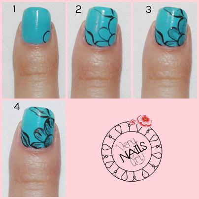 nail-art-azul-flores-paso-a-paso