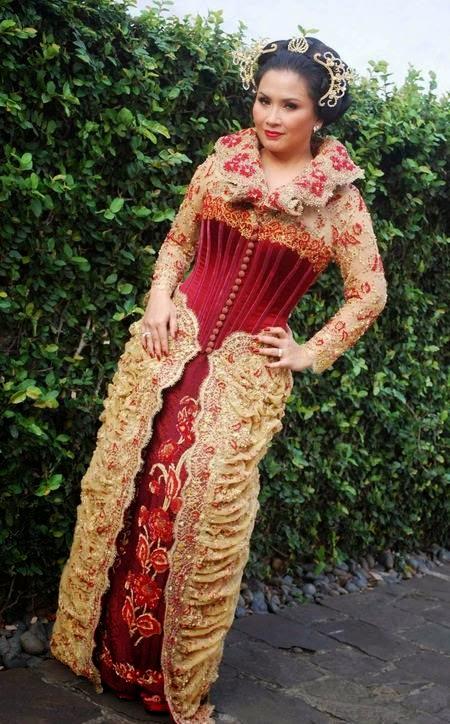 Kumpulan Foto Model Baju Kebaya Orang Gemuk Trend Baju Kebaya