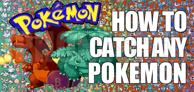 pokemon leaf green how to catch any pokemon