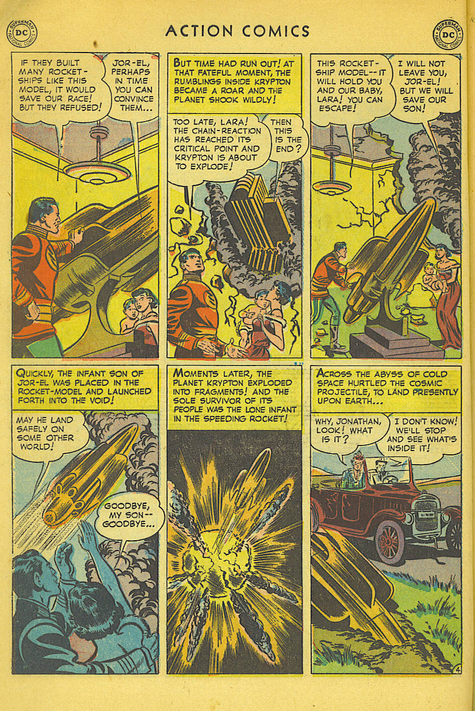 Read online Action Comics (1938) comic -  Issue #158 - 5