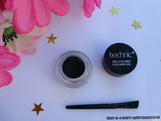 Technic Gel Eyeliner Black