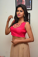 Akshita super cute Pink Choli at south indian thalis and filmy breakfast in Filmy Junction inaguration by Gopichand ~  Exclusive 007.JPG