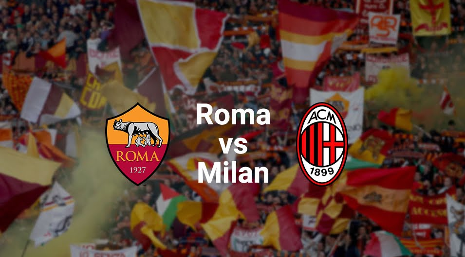 ROMA MILAN Streaming Video: dove vederla Gratis Online con smartphone iPhone Android