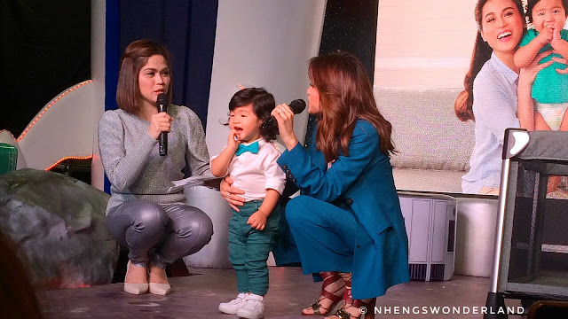 Toni Gonzaga - Soriano and Baby Seve Are Now Part of Pampers Family