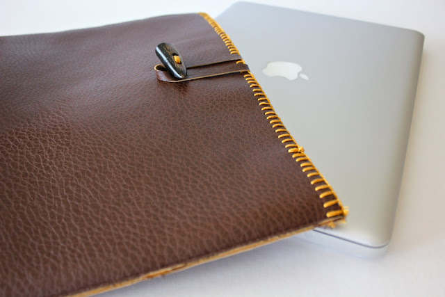 Laptop Sleeve | Homemade Christmas Gifts Men Will Actually Love