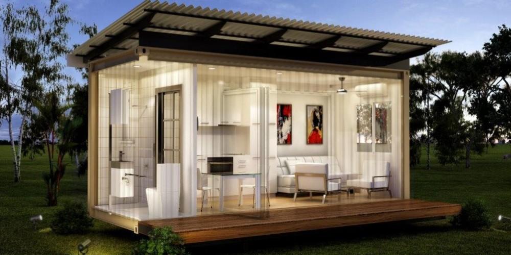 Маленький модульный домик самому своими руками, цена, проект, купить