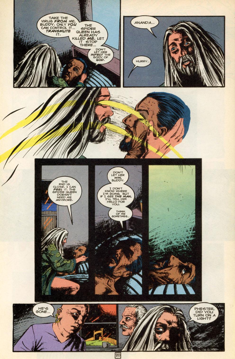 Read online Animal Man (1988) comic -  Issue #88 - 20
