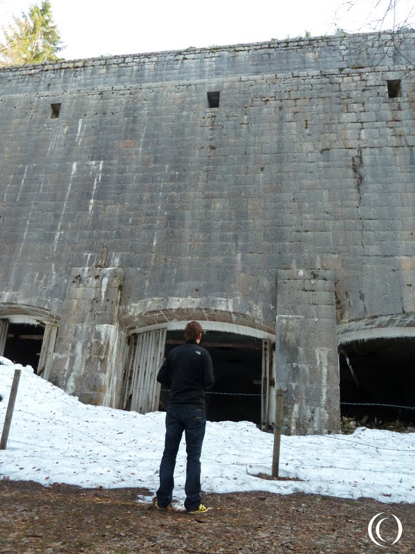 Pascal shows the sheer size of the Coal Storage Bunker