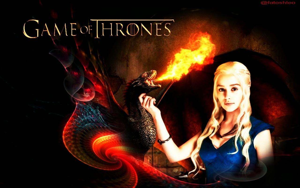 Mother Of Dragons 4K Wallpaper