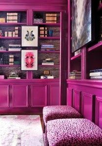 decorar con radiant orchid