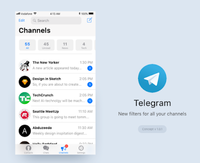 Cara Mengembalikan History Chat Foto dan Video Terhapus di Telegram