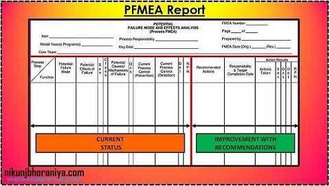 PFMEA Report