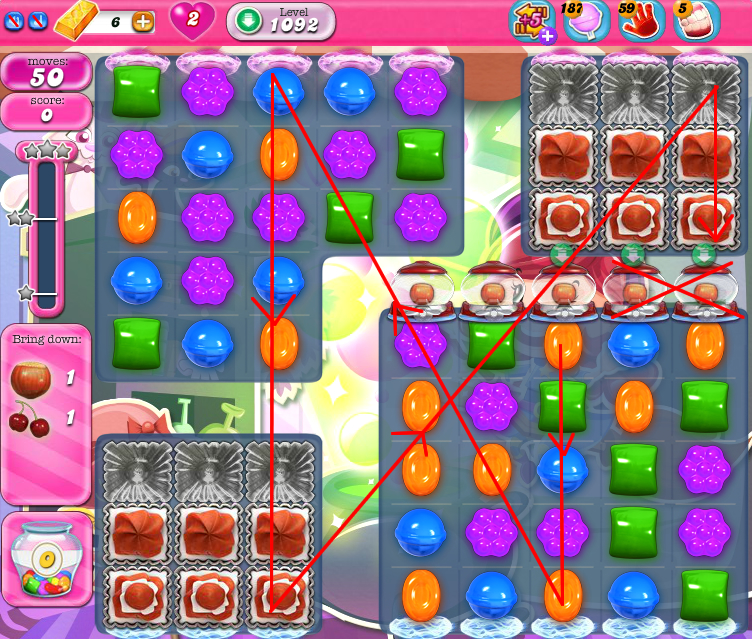 Candy Crush Saga 1092