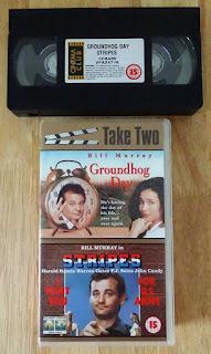 Groundhog Day VHS cassette tape