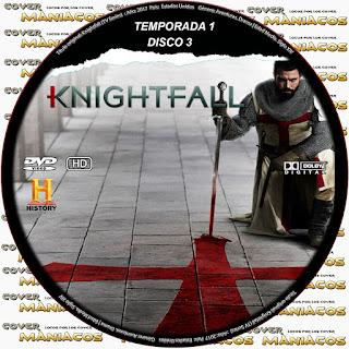 COVER Knightfall (TV Series) [TEMPORADA 1] DVD COVER