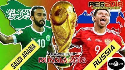Saudi Arabia VS Rusia, Indihome World Cup, Russia World Cup, World Cup 2018, Vladimir Putin, Piala Dunia 2018