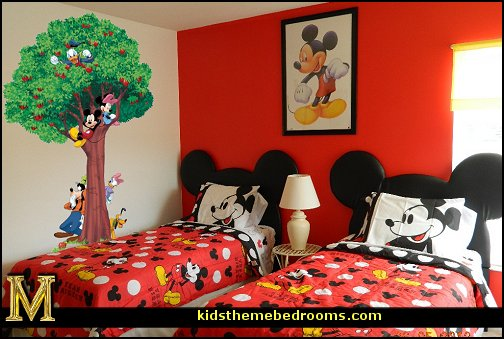 Decorating theme bedrooms maries manor minnie mouse Mickey mouse bedroom ideas