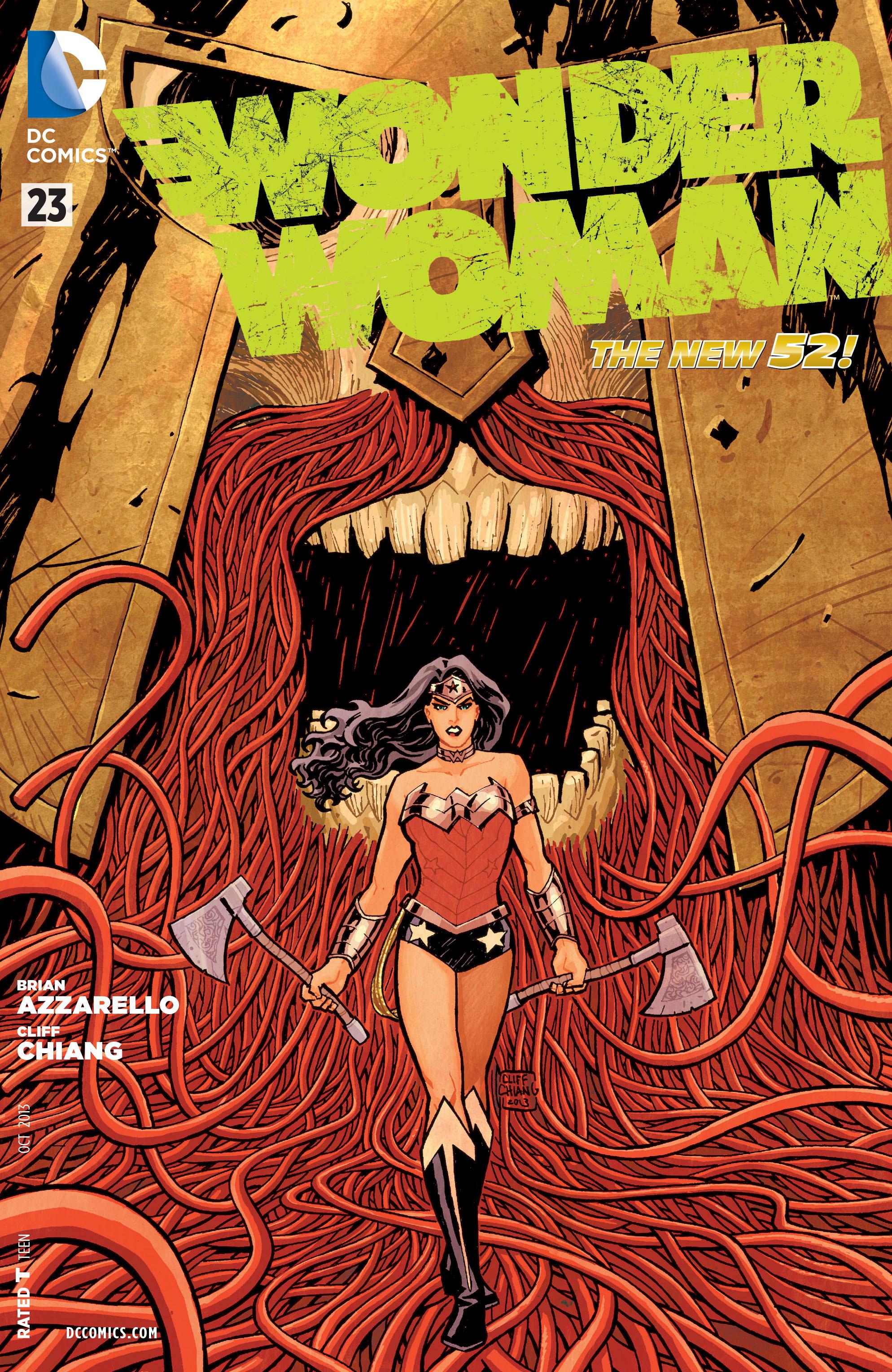 Read online Wonder Woman (2011) comic -  Issue #23 - 1
