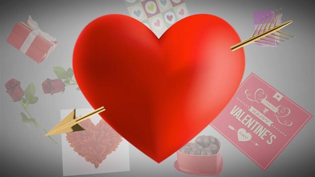 heart broken valentines day images