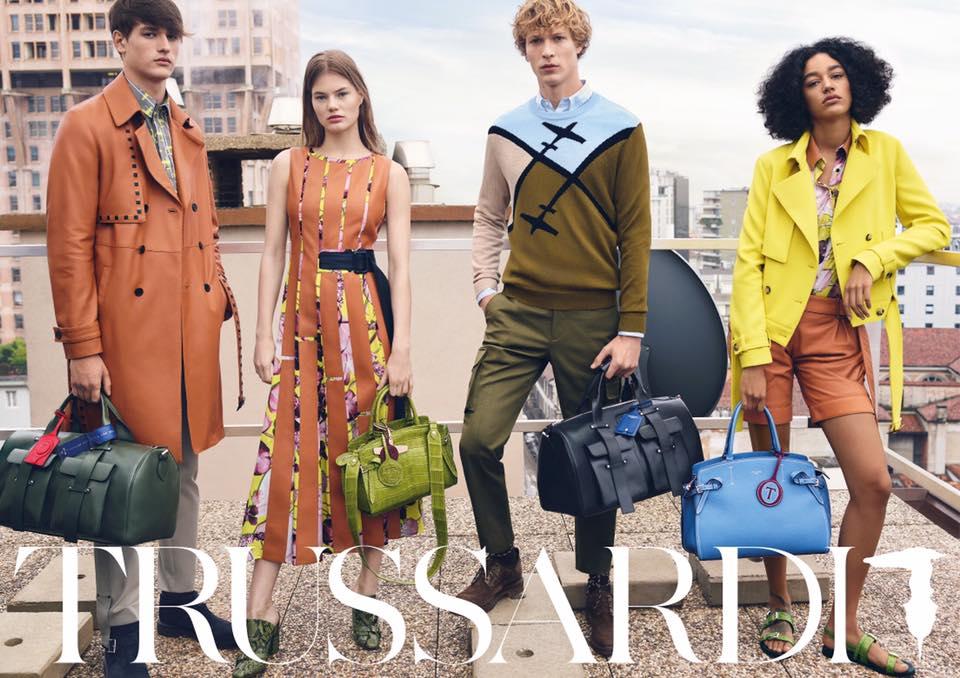 Trussardi Spring/Summer 2018 Campaign