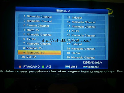 hasil tracking chinasat 11