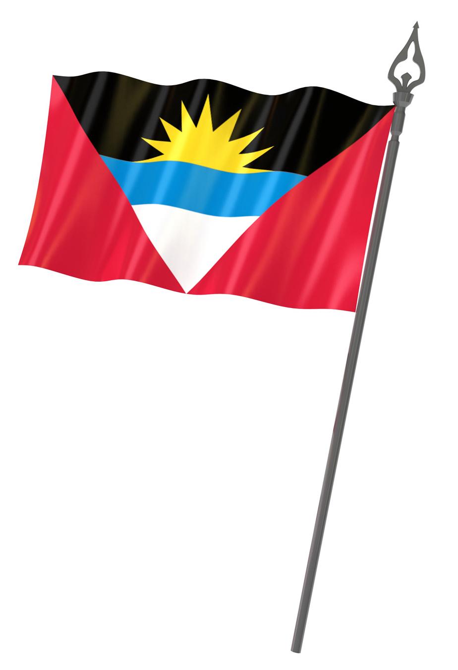 Indian Flag Wallpaper 3d Graafix Flag Of Antigua And Barbuda
