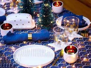 Déco : une table de fête pour Noël