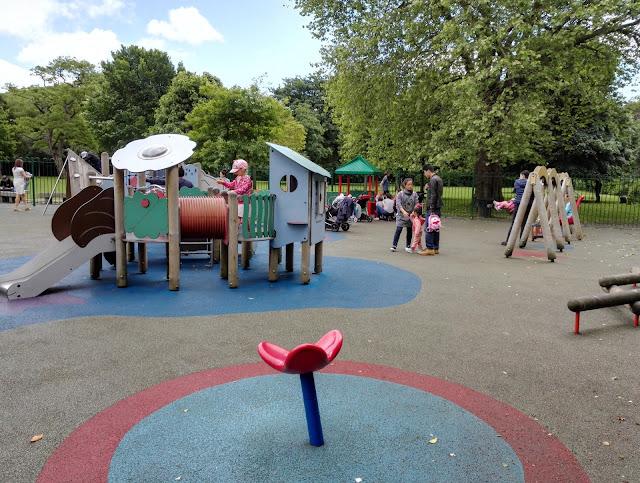 Dublinin leikkipaikat ja leikkipuistot